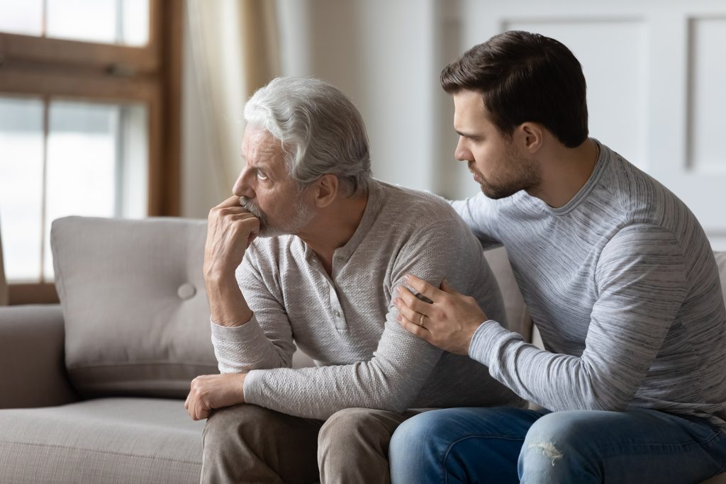 Can I file a personal injury claim on behalf of a parent?
